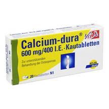 Calcium Dura Vit D3 600 mg / 400 I.E. Kautabletten