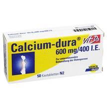 Produktbild Calcium Dura Vit D3 600 mg / 400 I.E. Kautabletten