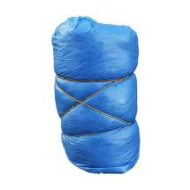 Überschuhe Einmal Kunststoff blau