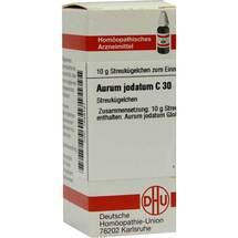 Produktbild Aurum jodatum C 30 Globuli