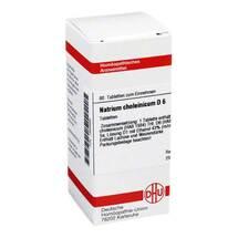 Produktbild Natrium choleinicum D 6 Tabletten