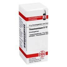 Produktbild Thiosinaminum D 12 Globuli