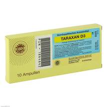 Produktbild Taraxan D 3 Injektion Ampullen