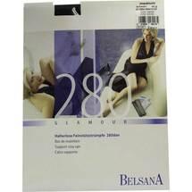 Produktbild Belsana glamour AG 280d.nor. + Spitzenhaftband M schwarz mit S