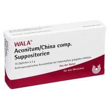 Produktbild Aconitum / China comp. Suppositorien