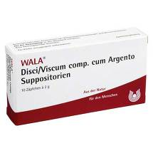 Produktbild Disci / Viscum comp. cum Argento Suppositorien