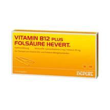 Vitamin B12 Folsäure Hevert Ampulle -Paare