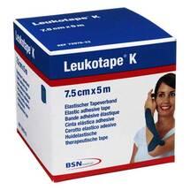 Produktbild Leukotape K 7,5cm blau