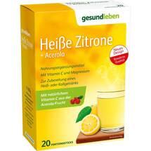Gesund Leben Heiße Zitrone + Acerola Pulver