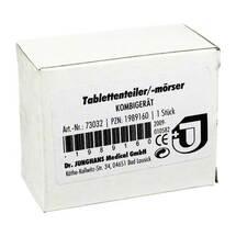 Produktbild Tablettenteiler Mörser Kombi