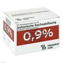 Produktbild Isotonische Kochsalzlösung 0,9% Plastikampullen