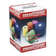 Produktbild Pressotherm Kohäsive Bandage 8cmx4m weiß
