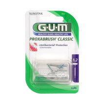 Produktbild GUM Proxabrush Ersatzbürsten Kerze