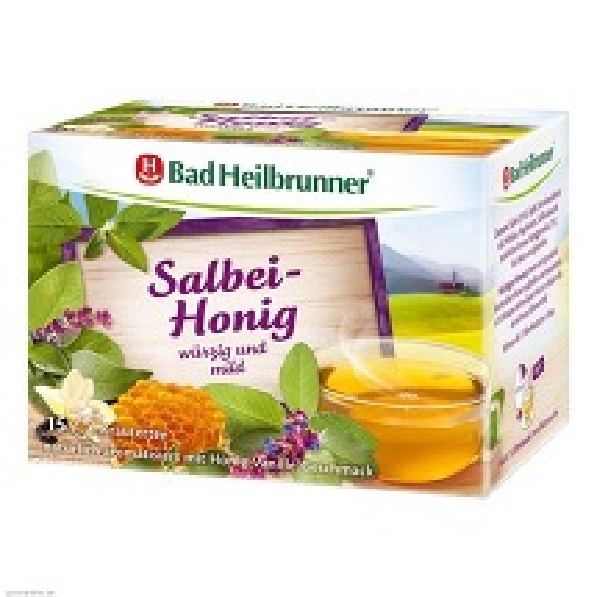 Produktbild Bad Heilbrunner Tee Salbei Honig Filterbeutel