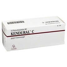 Produktbild Kendural C Retardtabletten
