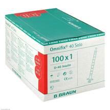 Produktbild Ominifix Solo 40 Insulin Einmalspritzen