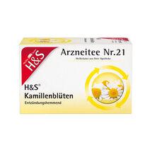 Produktbild H&S Kamillentee Filterbeutel