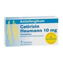 Produktbild Cetirizin Heumann 10 mg Filmtabletten