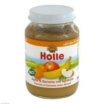 Produktbild Holle Apfel & Banane mit Aprikose