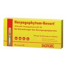 Harpagophytum Hevert Ampullen