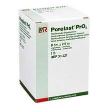 Produktbild Porelast PrO2 Pflasterbinde 8cmx2,5m 30221