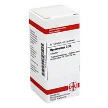 Produktbild Hyoscyamus D 30 Tabletten