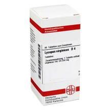 Produktbild Lycopus virg. D 4 Tabletten