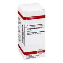 Produktbild Lycopus virg. D 3 Tabletten