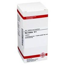 Nux vomica D 4 Tabletten