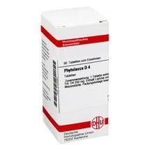 Produktbild Phytolacca D 4 Tabletten