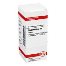 Produktbild Rhododendron D 6 Tabletten