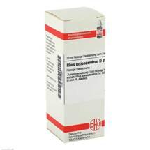 Produktbild Rhus toxicodendron D 20 Dilution