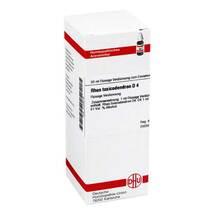 Produktbild Rhus toxicodendron D 4 Dilution