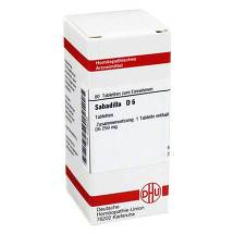 Sabadilla D 6 Tabletten