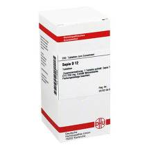 Produktbild Sepia D 12 Tabletten