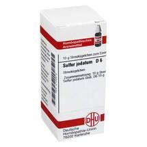 Produktbild Sulfur jodatum D 6 Globuli