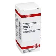 Produktbild Argentum nitricum D 12 Tabletten