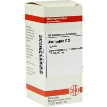 Produktbild Asa foetida D 3 Tabletten