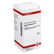Produktbild Aurum metallicum D 12 Tabletten