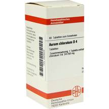 Produktbild Aurum chloratum D 6 Dilution