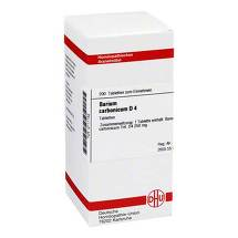 Produktbild Barium carbonicum D 4 Tabletten