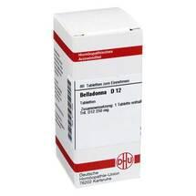 Produktbild Belladonna D 12 Tabletten