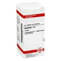 Produktbild Capsicum D 4 Tabletten