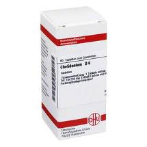 Produktbild Chelidonium D 6 Tabletten
