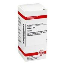 Produktbild China D 6 Tabletten