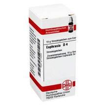 Produktbild Euphrasia D 4 Globuli
