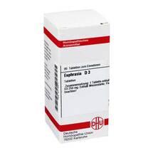 Produktbild Euphrasia D 3 Tabletten