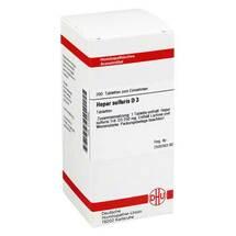 Produktbild Hepar sulfuris D 3 Tabletten