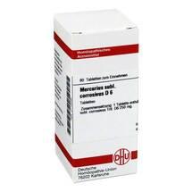 Produktbild Mercurius sublimatus corrosivus D 6 Tabletten