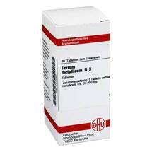 Produktbild Ferrum metallicum D 3 Tabletten